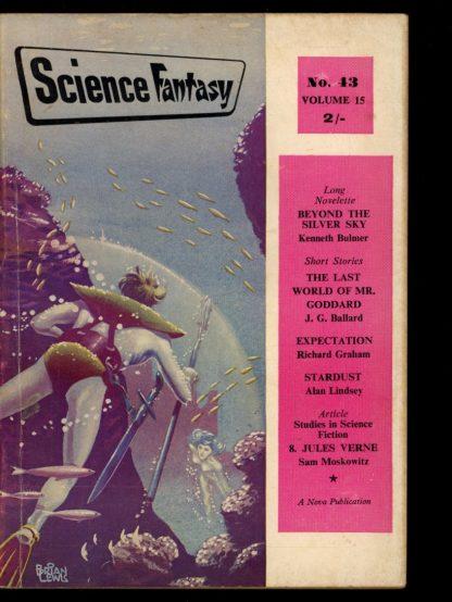 Science Fantasy [BRITISH] - #43 - 10/60 - VG - Nova Publications