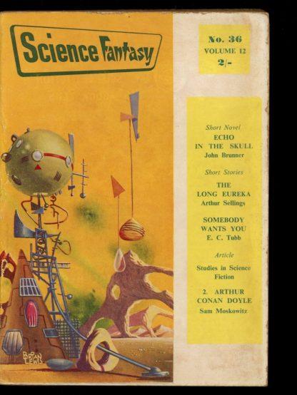 Science Fantasy [BRITISH] - #36 - 08/59 - VG - Nova Publications
