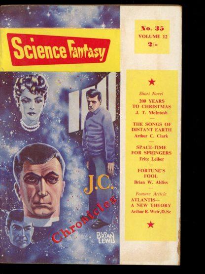 Science Fantasy [BRITISH] - #35 - 06/59 - VG - Nova Publications
