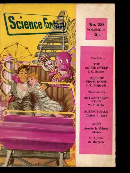 Science Fantasy [BRITISH] - #39 - 02/60 - VG - Nova Publications