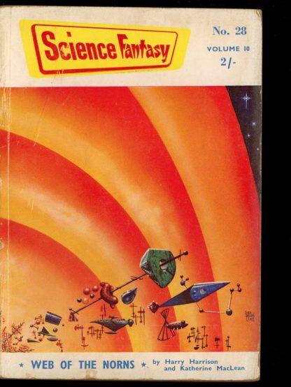 Science Fantasy [BRITISH] - #28 - 04/58 - G-VG - Nova Publications