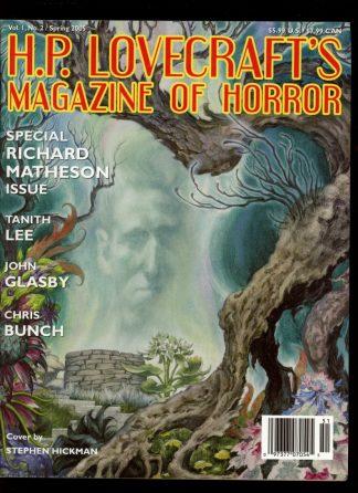 H.P. Lovecraft's Magazine Of Horror - VOL.1 NO.2 - SPRING/05 - FN - Wildside