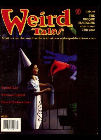 Weird Tales - #325 - FALL/01 - VG - Wildside