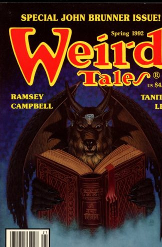 Weird Tales - SPRING/92 - SPRING/92 - FN - Terminus Publishing