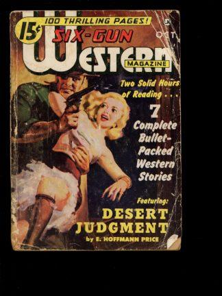 Six-Gun Western Magazine - 10/50 - 10/50 - G - Trojan