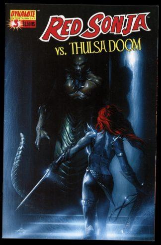 RED SONJA VS THULSA DOOM - #3 – CVR A - -/06 - 8.0 - Dynamite