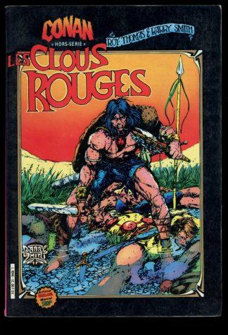 CONAN: LES CLOUS ROUGES [FRENCH] - 09/83 - 09/83 - 5.0 - Artima