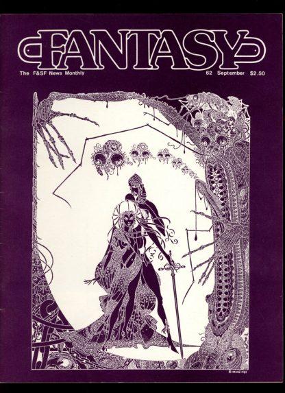 FANTASY NEWSLETTER - #62 - 09/83 - VG-FN - Florida Atlantic University