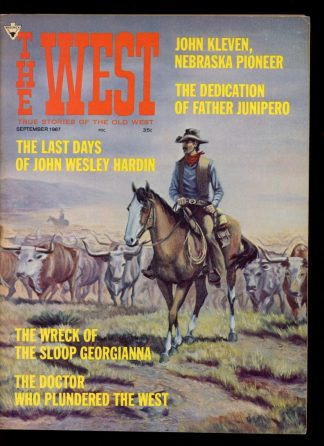 WEST - 09/67 - 09/67 - VG-FN - Maverick Publications