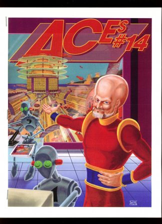 Aces - #14 [#8 of 100] - -/00 - NM - Paul McCall