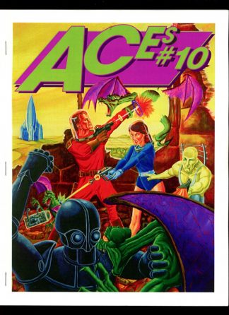Aces - #10 [#43 of 100] - -/98 - NM - Paul McCall