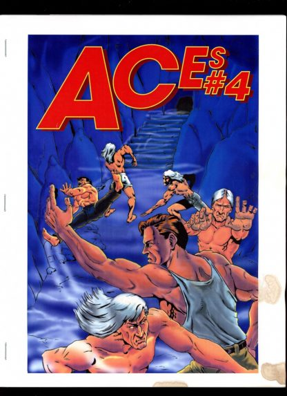 Aces - #4 [#69 of 100] - -/95 - G-VG - Paul McCall