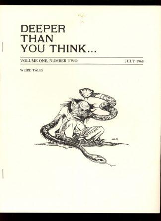 Deeper Than You Think - VOL.1 NO.2 - 07/68 - FN - Joel Frieman