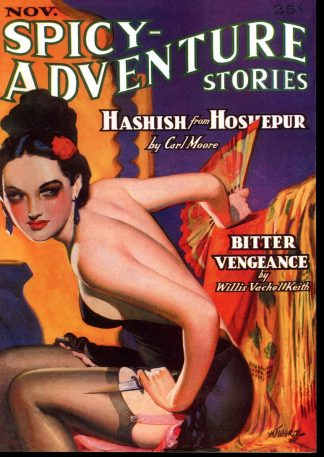 Spicy-Adventure Stories - 11/36 - 11/36 - NM - Girasol Collectibles