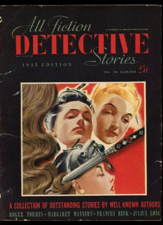 All Fiction Detective Stories - 1945 - -/45 - VG - Street & Smith