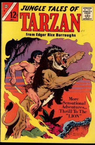 Jungle Tales Of Tarzan - #4 - 07/65 - 6.0 - Charlton