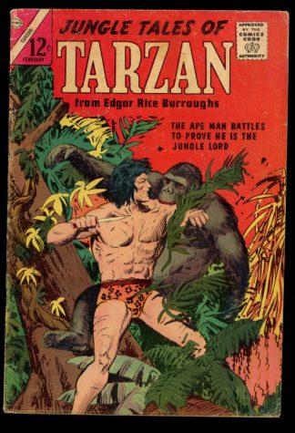 Jungle Tales Of Tarzan - #2 - 02/65 - 4.0 - Charlton