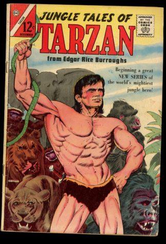 Jungle Tales Of Tarzan - #1 - 12/64 - 5.0 - Charlton