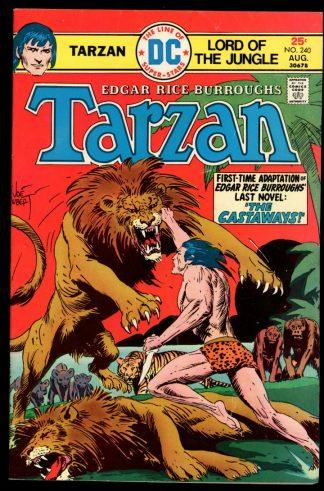 Tarzan - #240 - 08/75 - 5.0 - DC