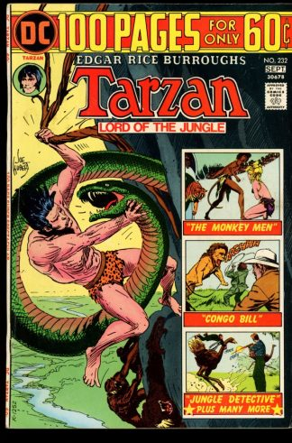 Tarzan - #232 - 08-09/74 - 6.0 - DC