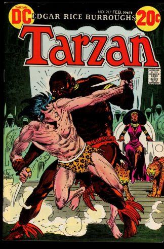 Tarzan - #217 - 02/73 - 9.0 - DC