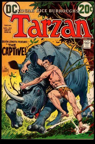Tarzan - #212 - 09/72 - 7.0 - DC