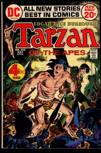 Tarzan - #210 - 07/72 - 8.0 - DC