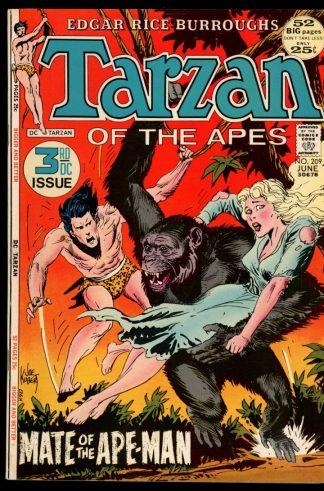 Tarzan - #209 - 06/72 - 8.0 - DC