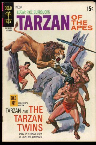 Tarzan - #196 - 10/70 - 5.0 - Gold Key