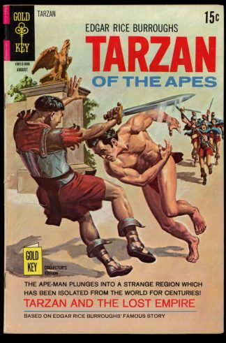 Tarzan - #194 - 08/70 - 5.0 - Gold Key