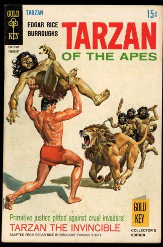 Tarzan - #182 - 02/69 - 5.0 - Gold Key