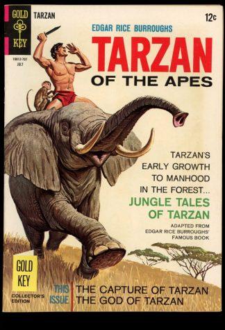 Tarzan - #169 - 07/67 - 7.0 - Gold Key