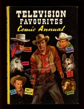 Television Favourites Comic Annual - UK - -/59 - VG - World Distributors