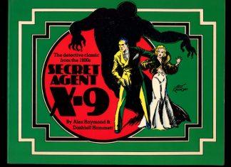 Secret Agent X-9 - 1976 - -/76 - VG - Nostalgia Press