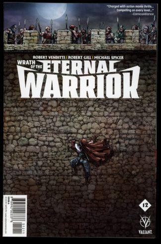 Wrath Of The Eternal Warrior - #12 – CVR A - 10/16 - 9.4 - Valiant