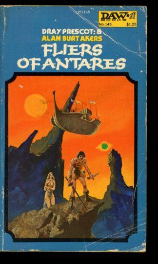 Fliers Of Antares [DRAY Prescott] - 1st Print - #8 - 04/75 - G-VG - DAW Books
