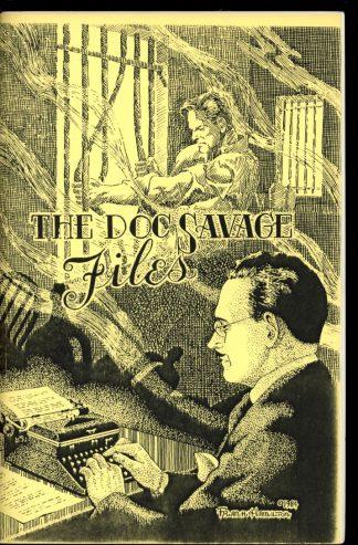 Doc Savage Files - 1st Print - -/86 - FN - Odyssey