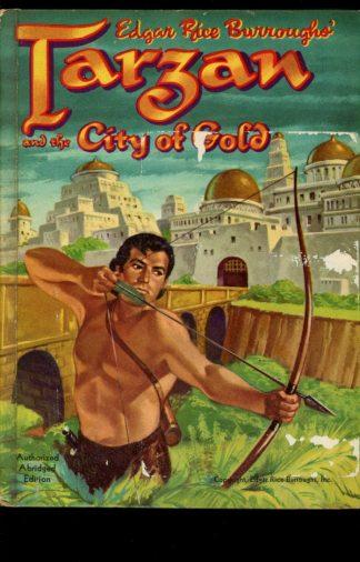 Tarzan And The City Of Gold - 1954 - -/54 - G-VG - Whitman