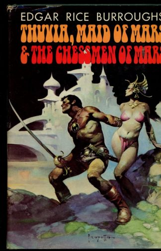 Thuvia Maid Of Mars & The Chessmen Of Mars - BOMC - -/72 - VG/NF - Nelson Doubleday