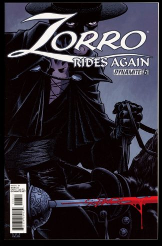 ZORRO RIDES AGAIN - #6 - 12/11 - 9.4 - Dynamite