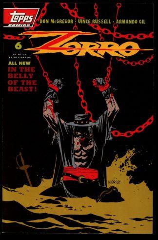 ZORRO - #6 - 06/94 - 9.4 - Topps