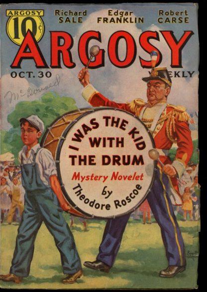 Argosy - 10/30/37 - 10/30/37 - FN - Munsey