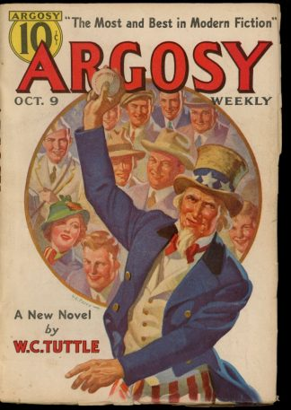 Argosy - 10/09/37 - 10/09/37 - FN - Munsey