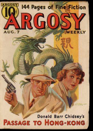 Argosy - 08/07/37 - 08/07/37 - FN - Munsey