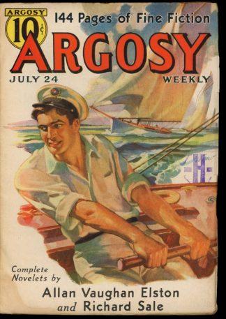 Argosy - 07/24/37 - 07/24/37 - VG - Munsey