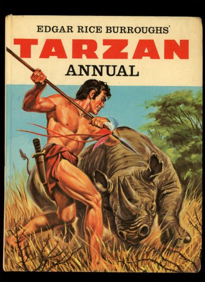 Edgar Rice Burroughs' Tarzan Annual [BRITISH] - 1967 - -/67 - VG - World Distributors