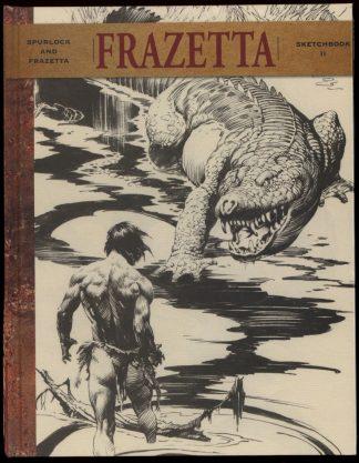 Frazetta Sketchbook - VOL.2 - 1st Print - -/14 - FN - Vanguard