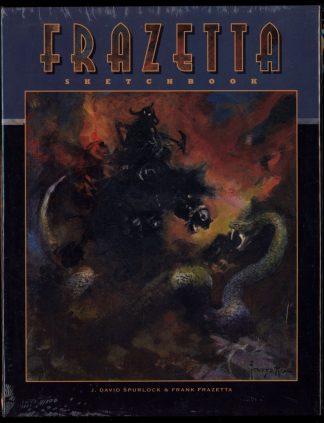 Frazetta Sketchbook - VOL.2 - 1st Print – Ltd - -/14 - FN - Vanguard