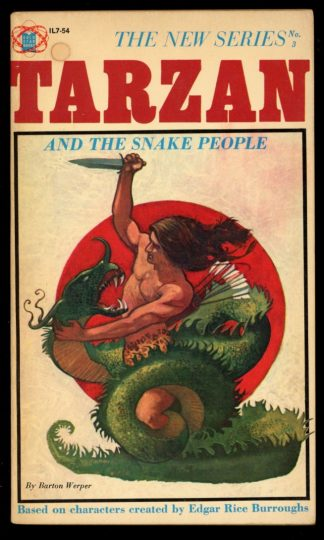 Tarzan And The Snake People - #3 - -/64 - VG - Gold Star Books