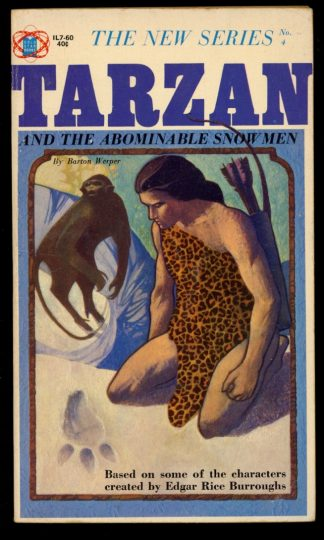 Tarzan And The Abominable Snow Men - #4 - -/65 - VG - Gold Star Books